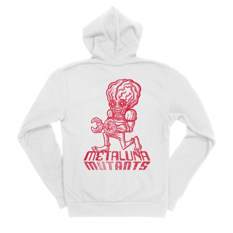 Metaluna Mutants Women's Sponge Fleece Zip-Up Hoody by Gimetzco's Damaged Goods