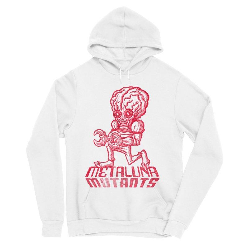Metaluna Mutants Men's Sponge Fleece Pullover Hoody by Gimetzco's Damaged Goods