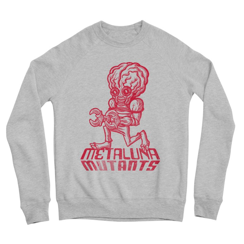 Metaluna Mutants Men's Sponge Fleece Sweatshirt by Gimetzco's Damaged Goods