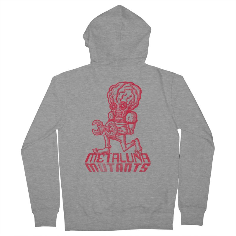 Metaluna Mutants Women's Zip-Up Hoody by Gimetzco's Damaged Goods