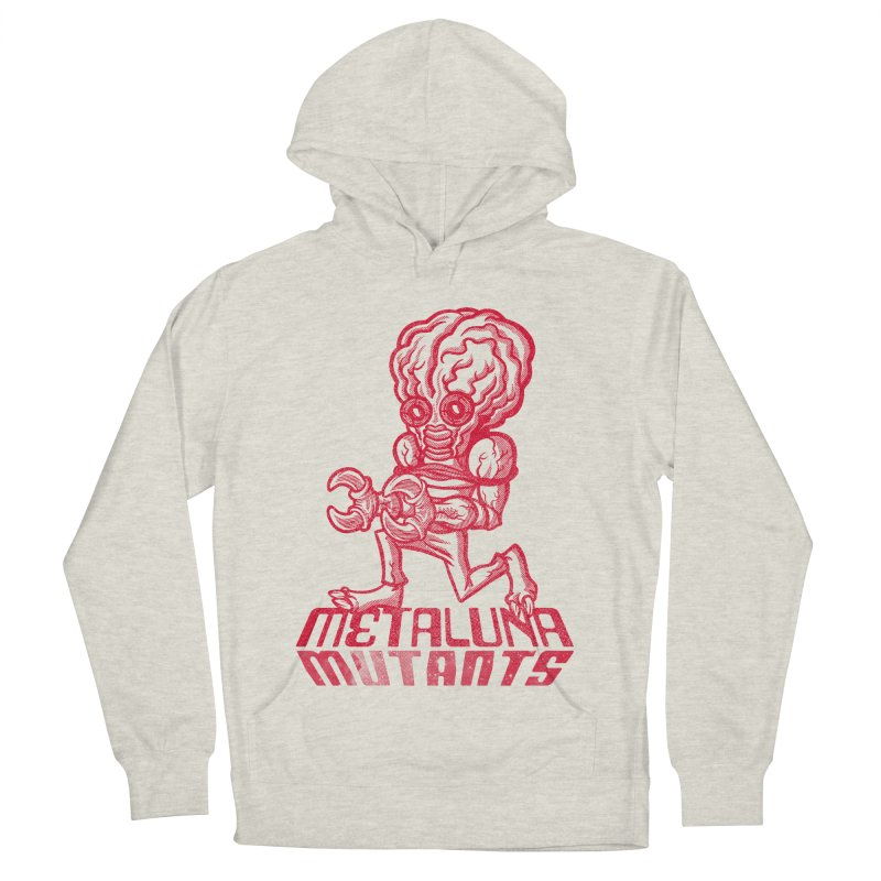 Metaluna Mutants Women's French Terry Pullover Hoody by Gimetzco's Damaged Goods