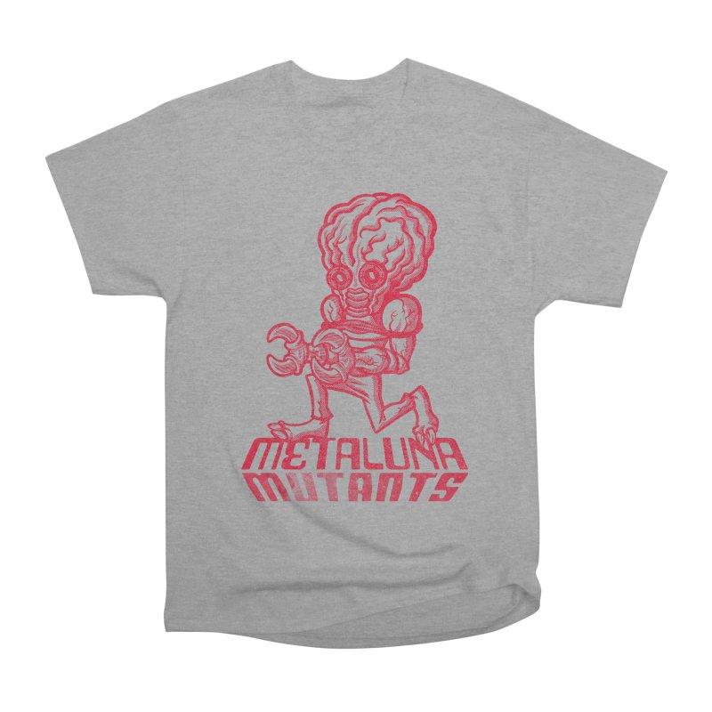 Metaluna Mutants Women's Heavyweight Unisex T-Shirt by Gimetzco's Damaged Goods