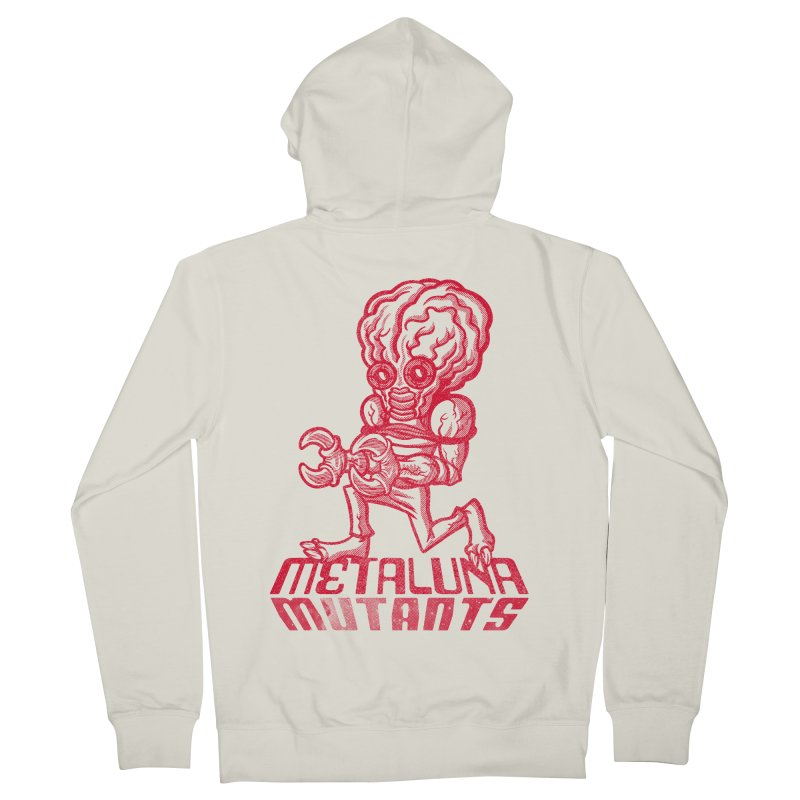 Metaluna Mutants Women's French Terry Zip-Up Hoody by Gimetzco's Damaged Goods