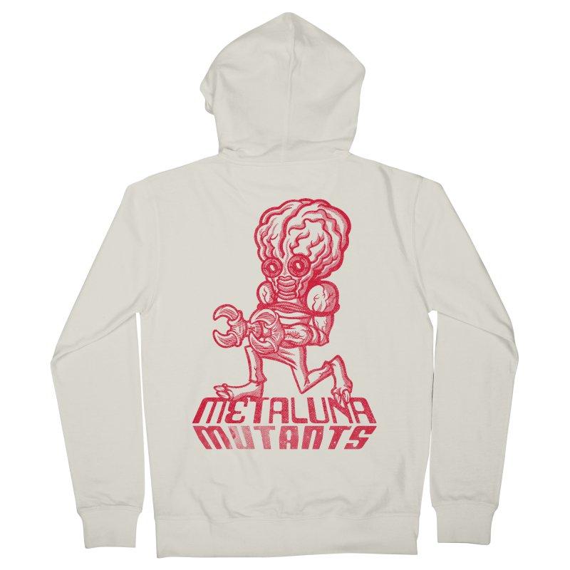 Metaluna Mutants Men's French Terry Zip-Up Hoody by Gimetzco's Damaged Goods