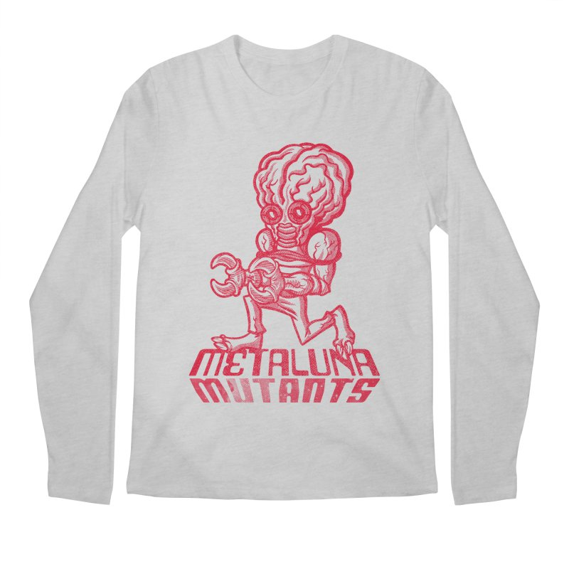 Metaluna Mutants Men's Regular Longsleeve T-Shirt by Gimetzco's Damaged Goods