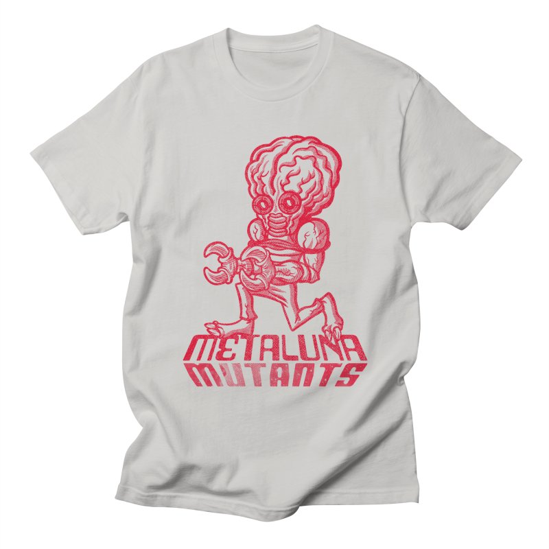 Metaluna Mutants Men's Regular T-Shirt by Gimetzco's Damaged Goods