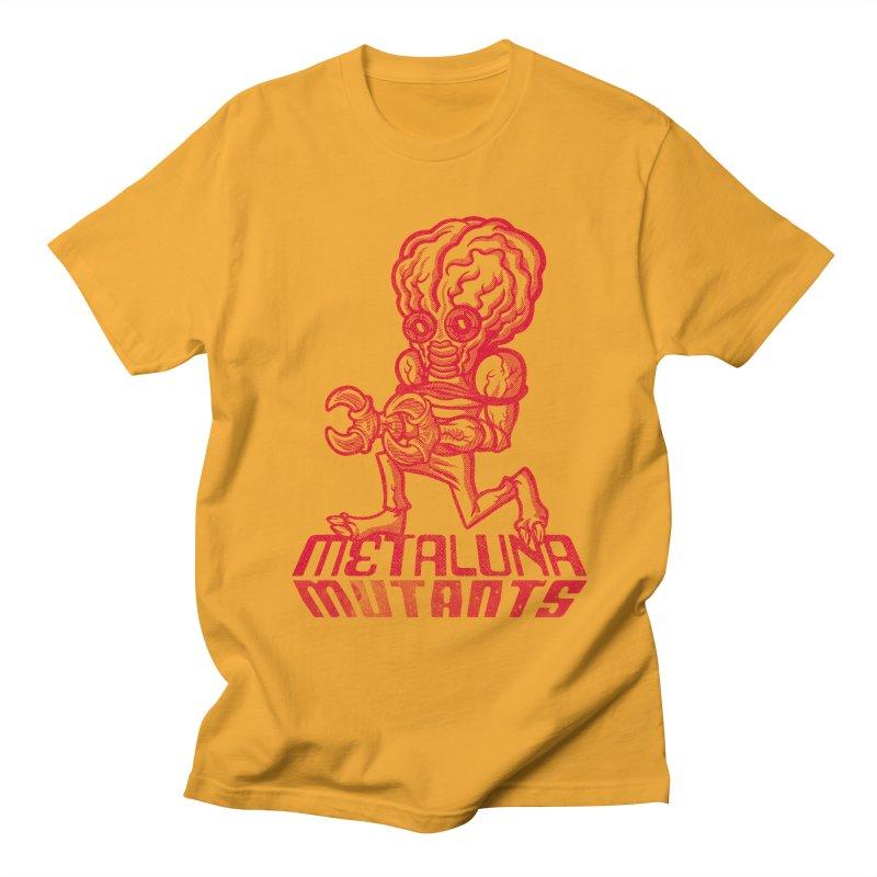Metaluna Mutants Men's Regular T-Shirt by Gimetzco's Damaged Goods