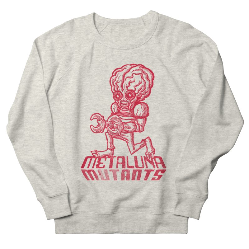 Metaluna Mutants Men's French Terry Sweatshirt by Gimetzco's Damaged Goods