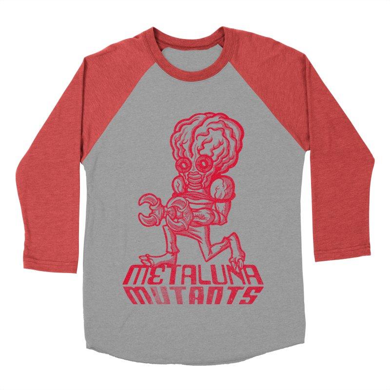 Metaluna Mutants Women's Baseball Triblend Longsleeve T-Shirt by Gimetzco's Damaged Goods