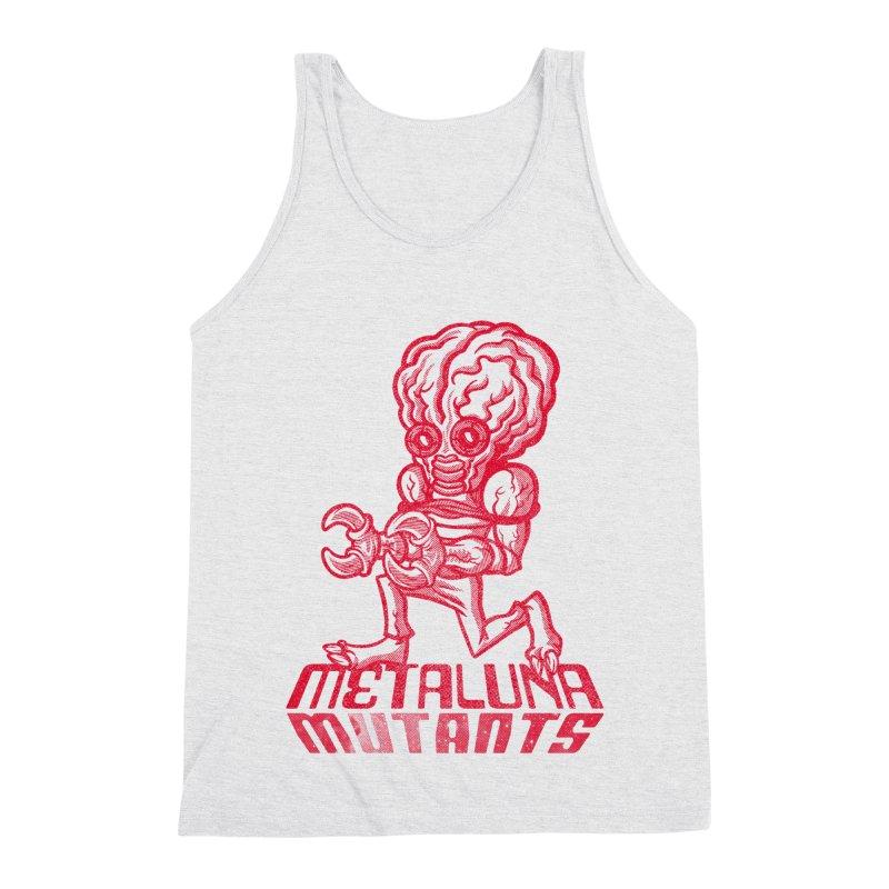 Metaluna Mutants Men's Triblend Tank by Gimetzco's Damaged Goods
