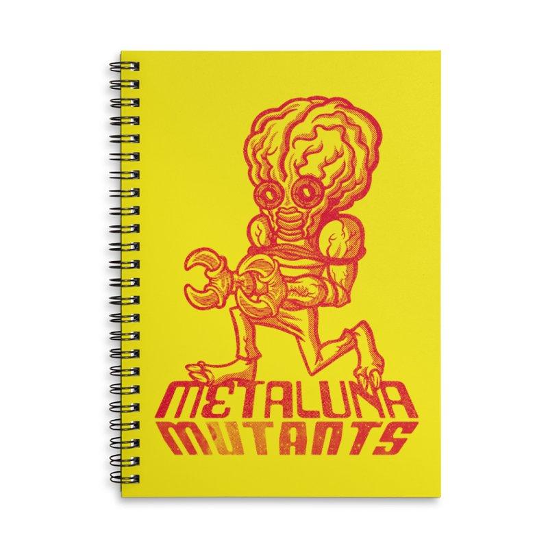 Metaluna Mutants Accessories Lined Spiral Notebook by Gimetzco's Damaged Goods