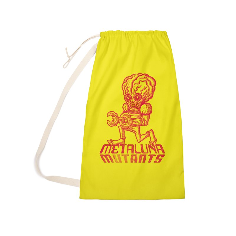 Metaluna Mutants Accessories Laundry Bag Bag by Gimetzco's Damaged Goods