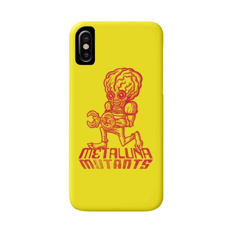Metaluna Mutants Accessories Phone Case by Gimetzco's Damaged Goods