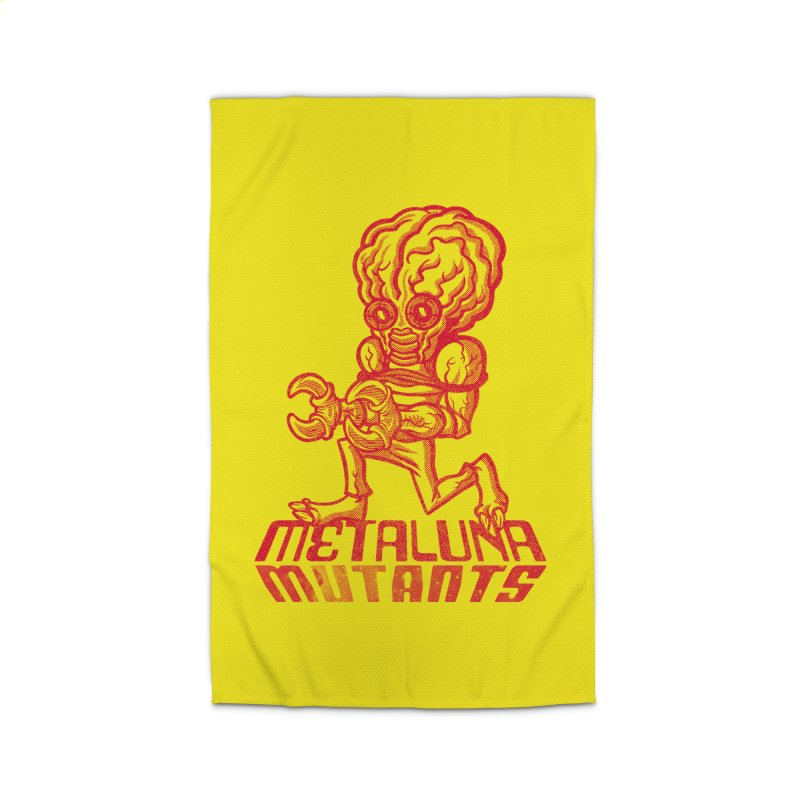 Metaluna Mutants Home Rug by Gimetzco's Damaged Goods