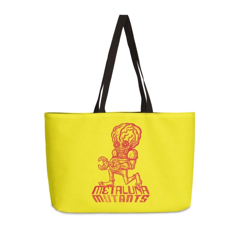 Metaluna Mutants Accessories Weekender Bag Bag by Gimetzco's Damaged Goods