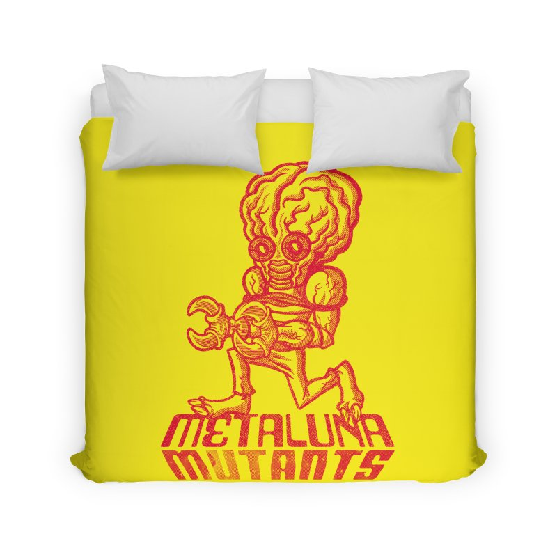 Metaluna Mutants Home Duvet by Gimetzco's Damaged Goods
