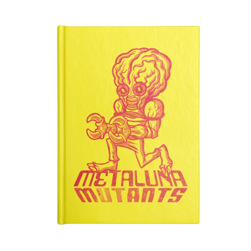 Metaluna Mutants Accessories Lined Journal Notebook by Gimetzco's Damaged Goods