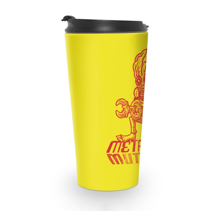 Metaluna Mutants Accessories Travel Mug by Gimetzco's Damaged Goods