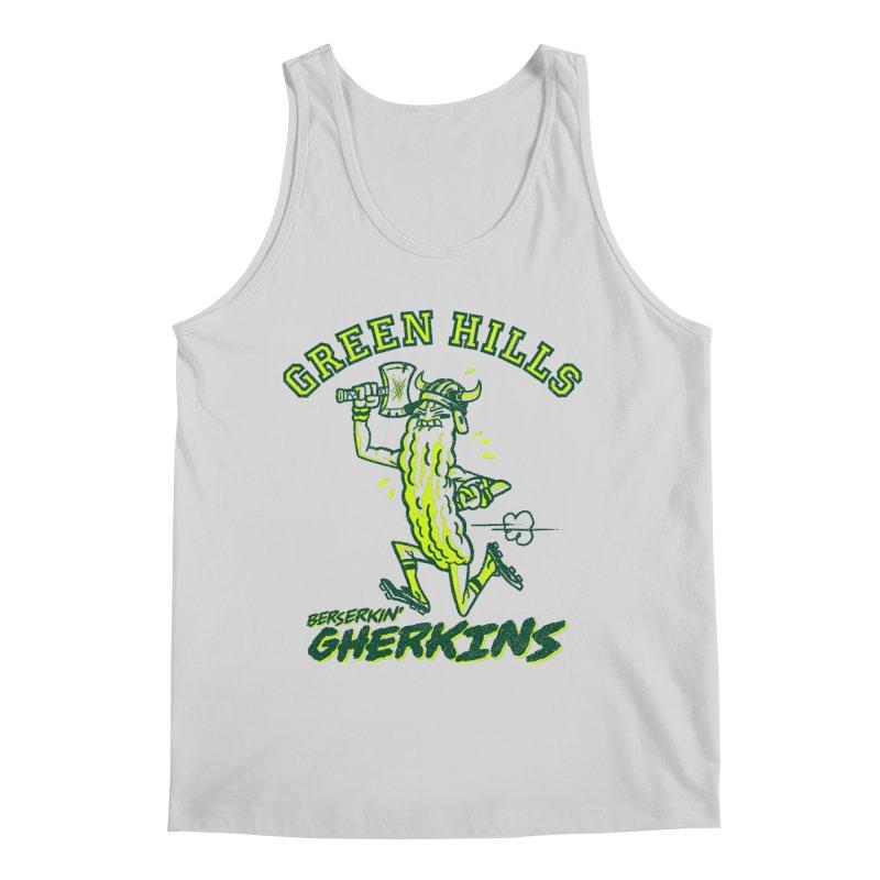 Berserkin' Gherkins Men's Regular Tank by Gimetzco's Damaged Goods