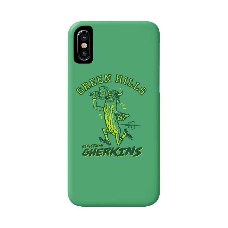 Berserkin' Gherkins Accessories Phone Case by Gimetzco's Damaged Goods