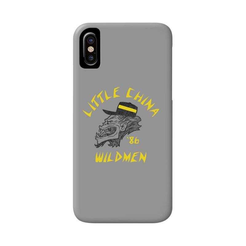 Little China Wildmen Accessories Phone Case by Gimetzco's Damaged Goods
