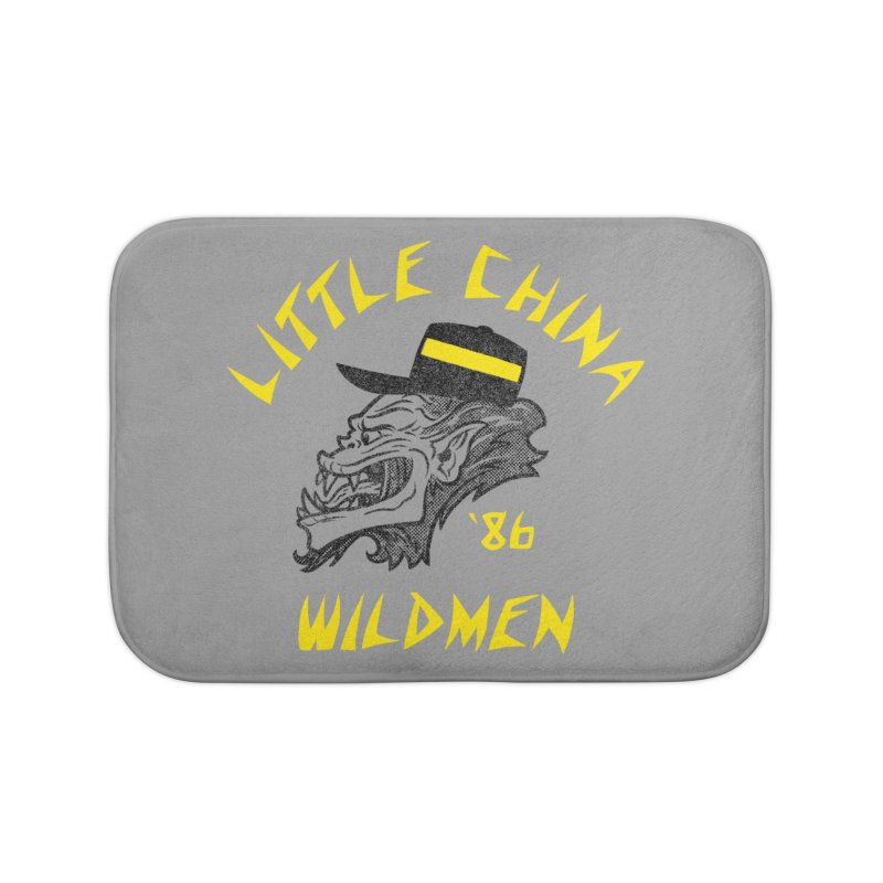 Little China Wildmen Home Bath Mat by Gimetzco's Damaged Goods