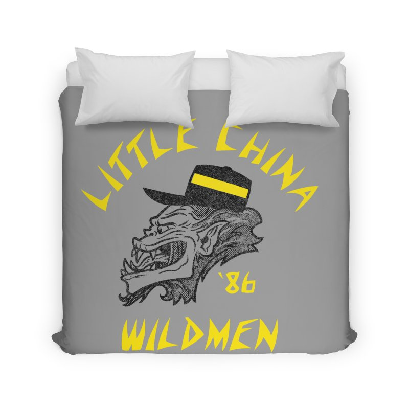Little China Wildmen Home Duvet by Gimetzco's Damaged Goods
