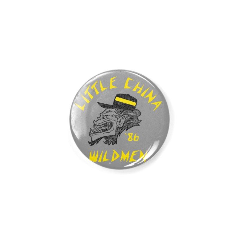Little China Wildmen Accessories Button by Gimetzco's Damaged Goods