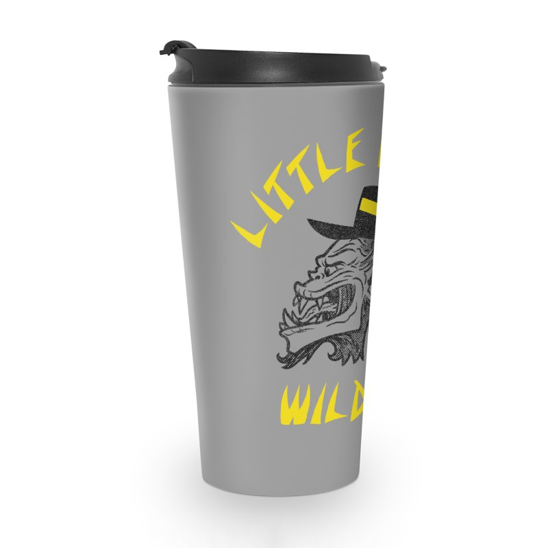 Little China Wildmen Accessories Travel Mug by Gimetzco's Damaged Goods