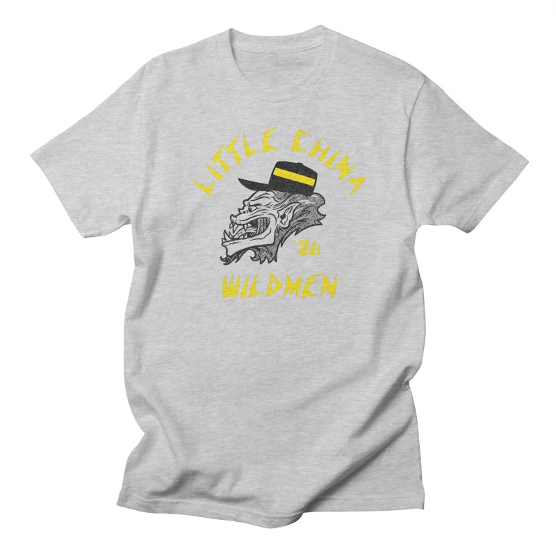 Little China Wildmen Women's Regular Unisex T-Shirt by Gimetzco's Damaged Goods