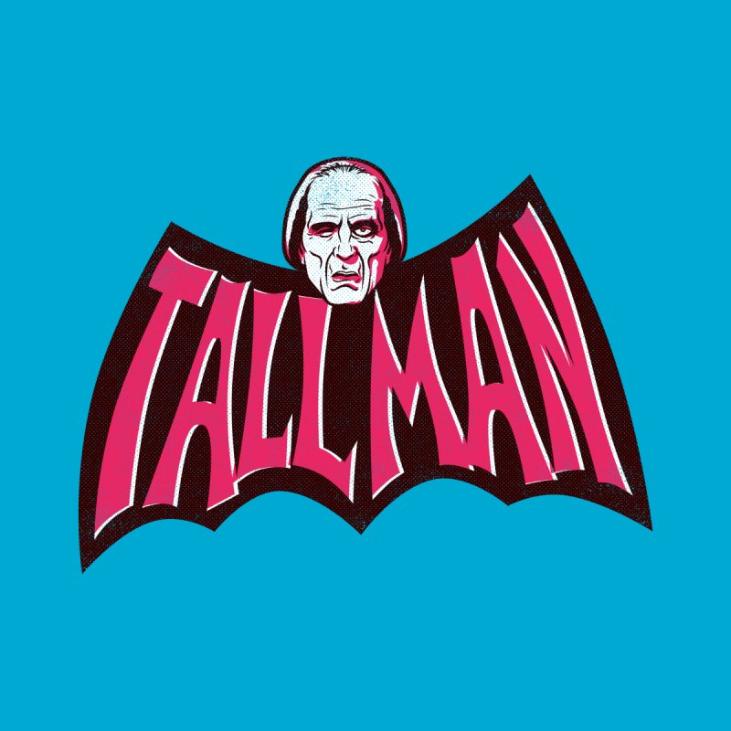 TALL MAN - in a bat shape by Gimetzco's Damaged Goods