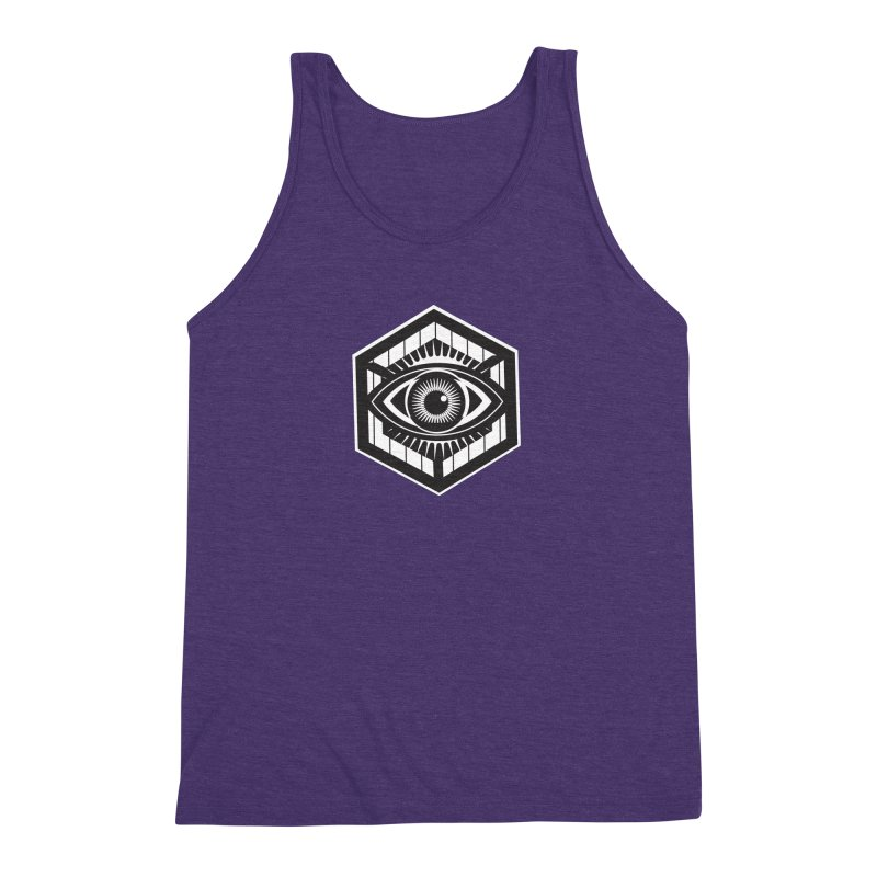 See possibilities Men's Triblend Tank by ginetas's Artist Shop