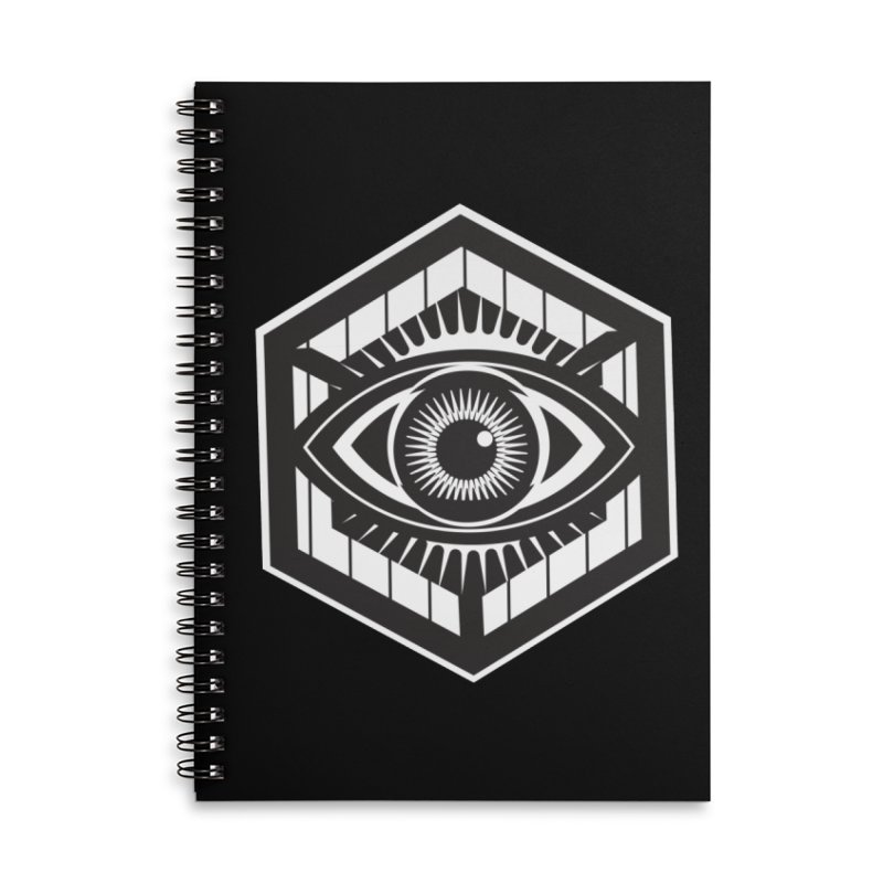 See possibilities Accessories Lined Spiral Notebook by ginetas's Artist Shop