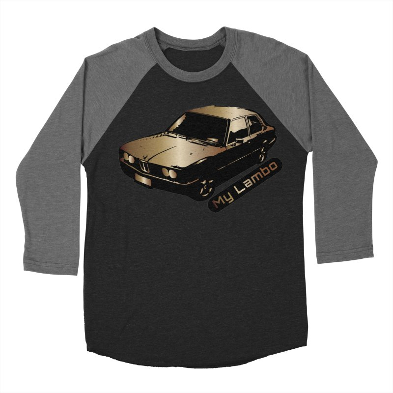 My Lambo Men's Baseball Triblend Longsleeve T-Shirt by ginetas's Artist Shop