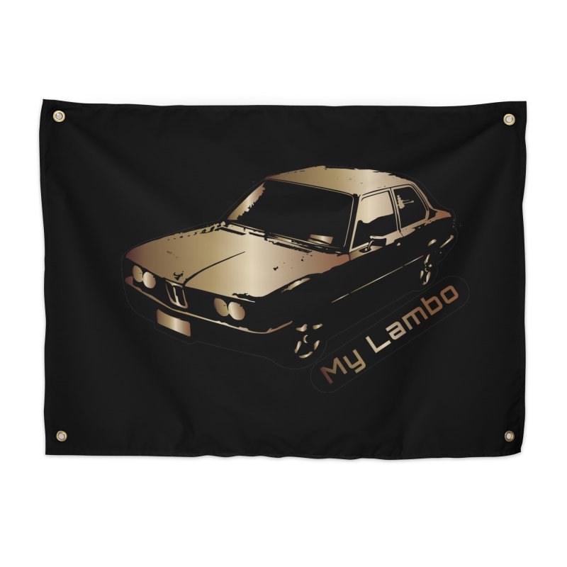 My Lambo Home Tapestry by ginetas's Artist Shop