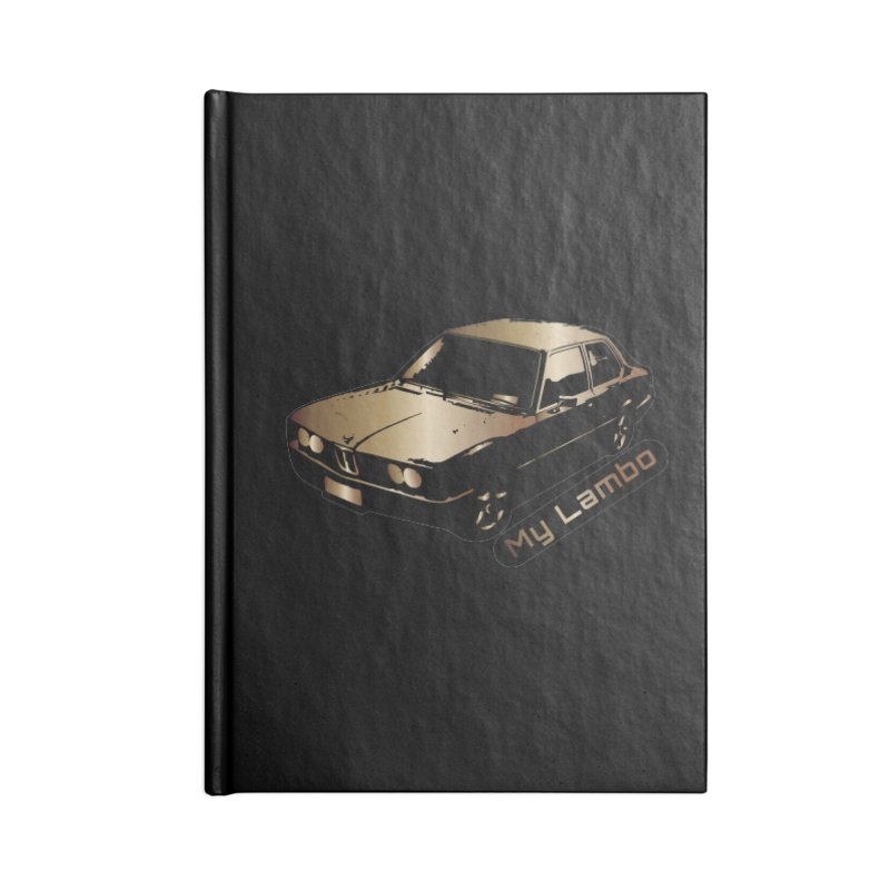 My Lambo Accessories Lined Journal Notebook by ginetas's Artist Shop
