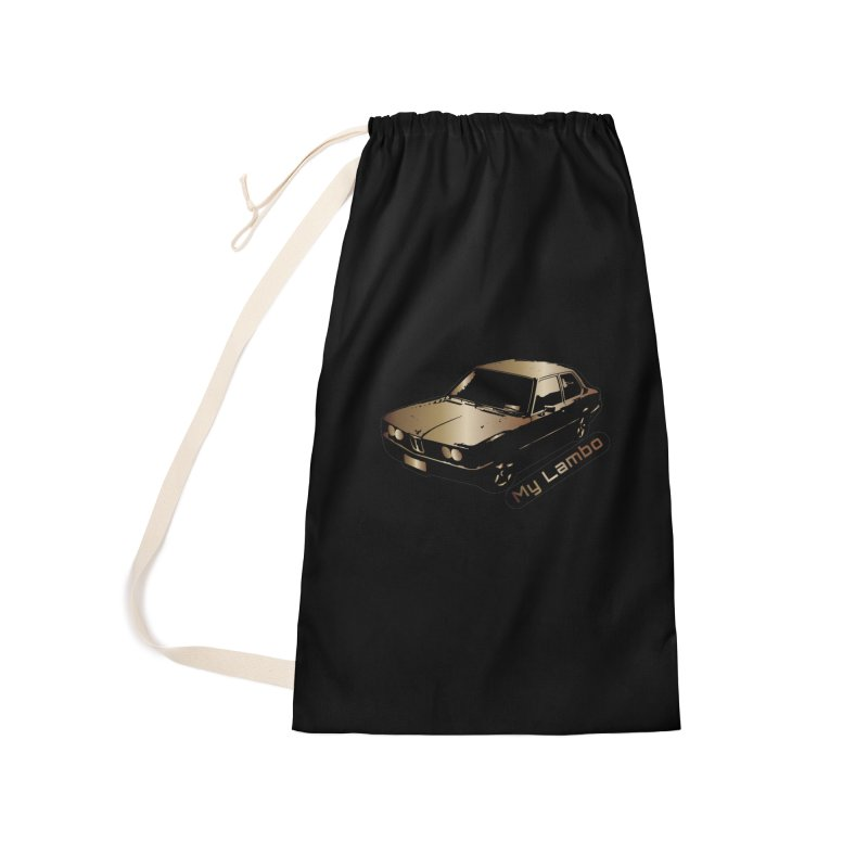 My Lambo Accessories Laundry Bag Bag by ginetas's Artist Shop