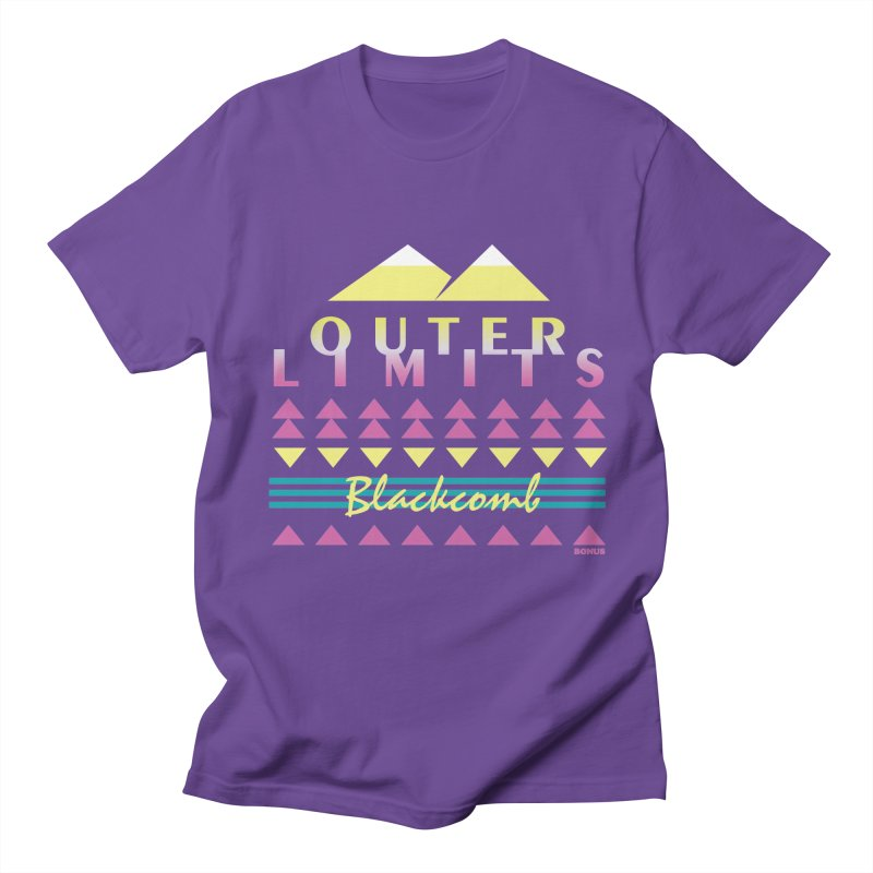 Outer Limits Men's Regular T-Shirt by rad mountain designs by Ginette