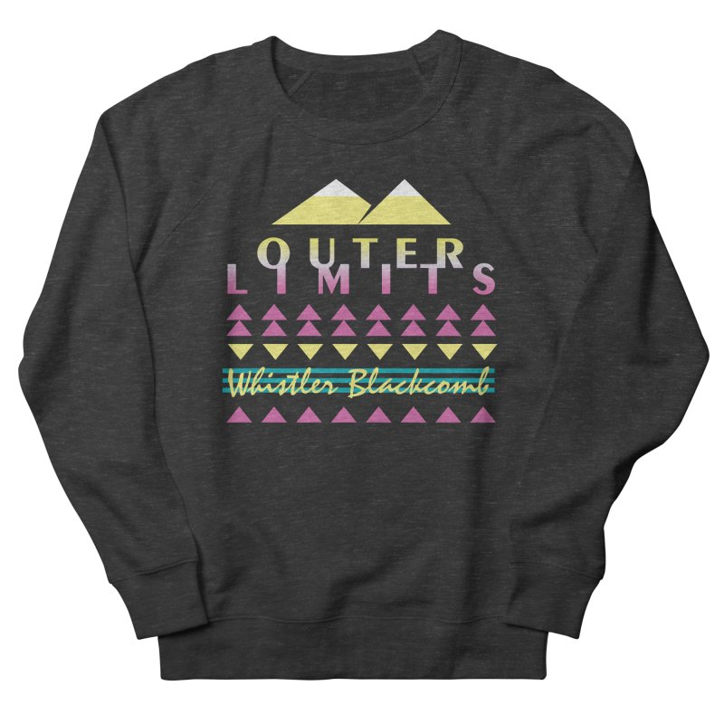 Outer Limits in Women's Sweatshirt Smoke by rad mountain designs by Ginette