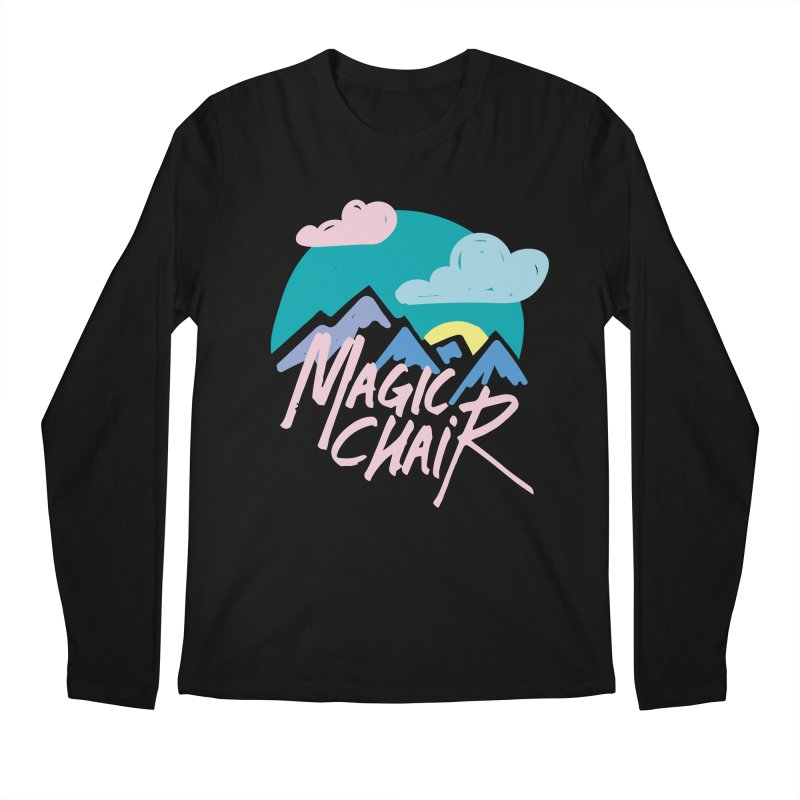 Magic Chair Men's Longsleeve T-Shirt by rad mountain designs by Ginette