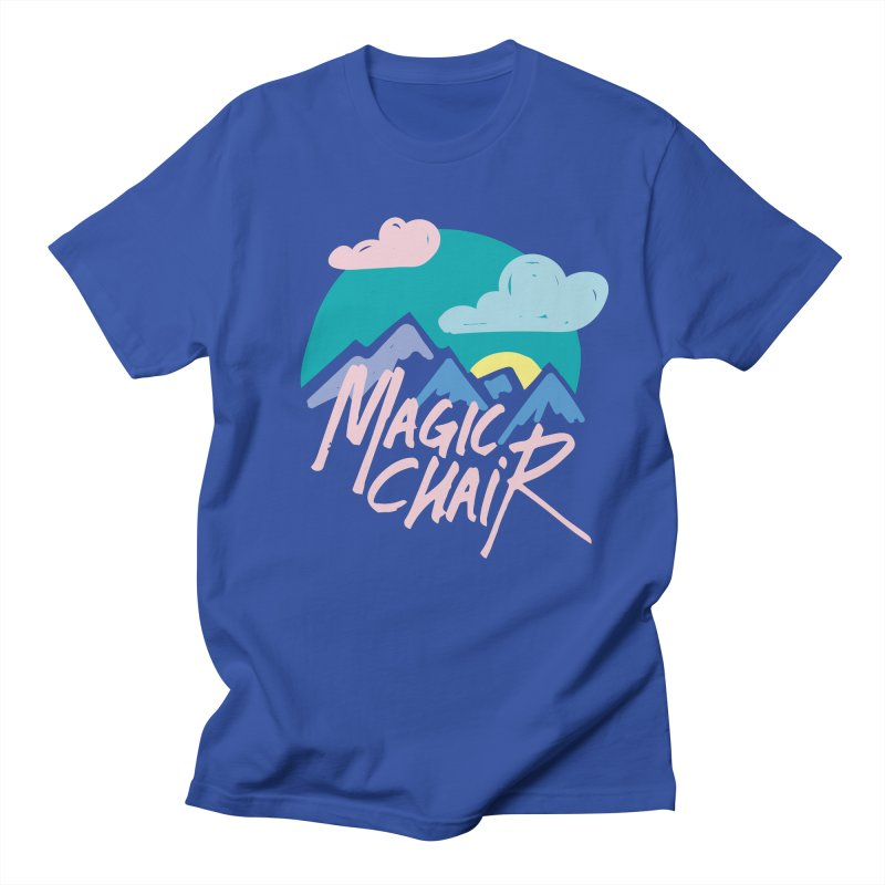 Magic Chair Men's Regular T-Shirt by rad mountain designs by Ginette