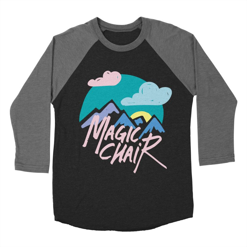 Magic Chair Women's Baseball Triblend Longsleeve T-Shirt by rad mountain designs by Ginette