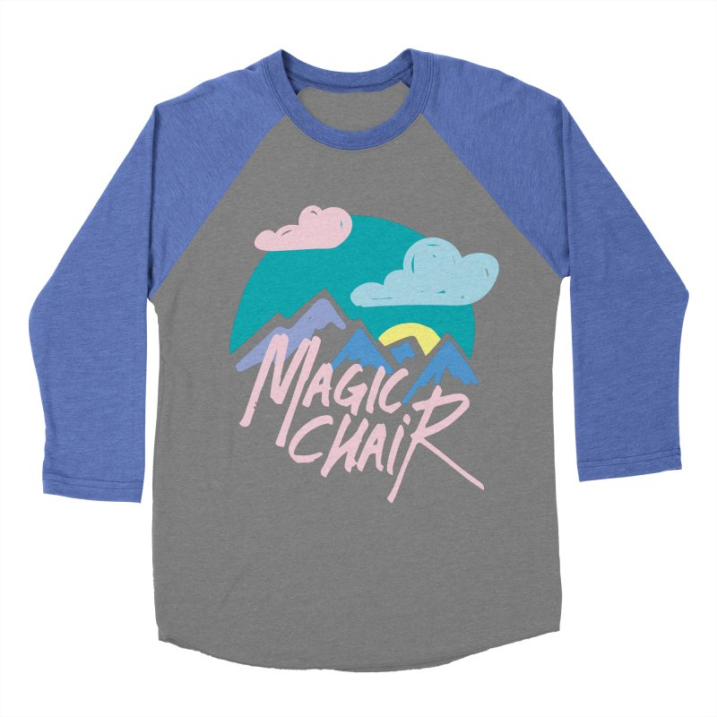 Magic Chair Men's Baseball Triblend Longsleeve T-Shirt by rad mountain designs by Ginette