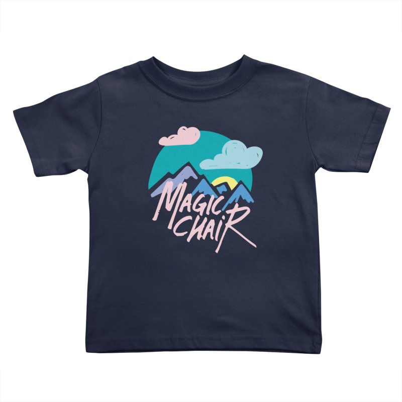 Magic Chair Kids Toddler T-Shirt by rad mountain designs by Ginette