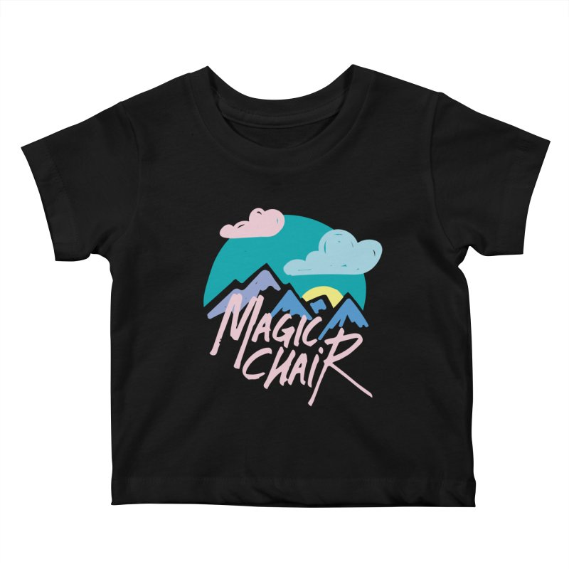 Magic Chair Kids Baby T-Shirt by rad mountain designs by Ginette