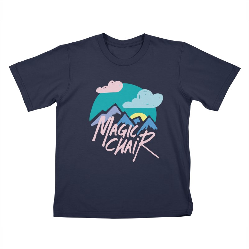 Magic Chair Kids T-Shirt by rad mountain designs by Ginette