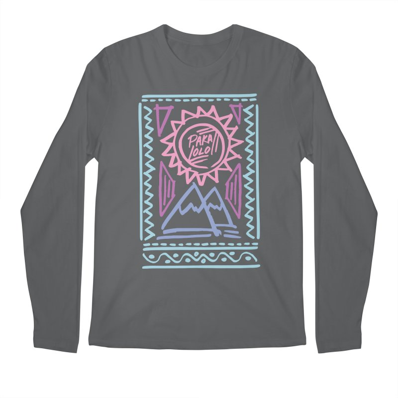 Pakalolo Men's Longsleeve T-Shirt by rad mountain designs by Ginette
