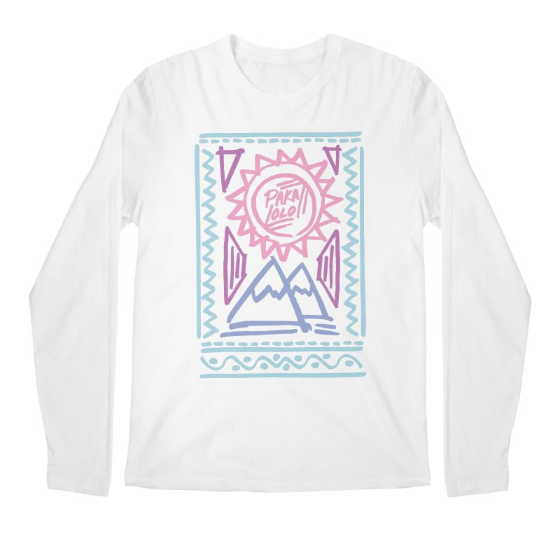 Pakalolo Men's Regular Longsleeve T-Shirt by rad mountain designs by Ginette