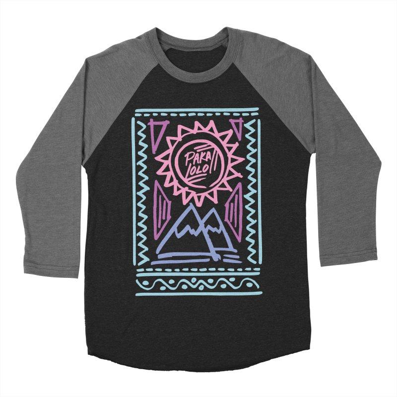Pakalolo Women's Baseball Triblend T-Shirt by rad mountain designs by Ginette