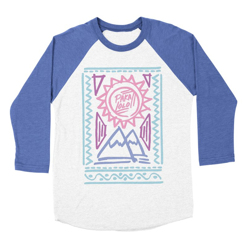 Pakalolo Men's Baseball Triblend T-Shirt by rad mountain designs by Ginette